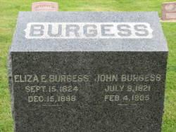 Eliza E <I>Ingalls</I> Burgess