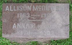 Anna B. <I>Heitzman</I> McDowell