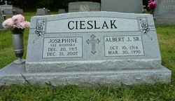 Albert J Cieslak, Sr