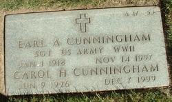 Eral A Cunningham