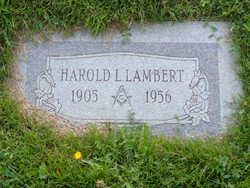 """Harold Leroy """"Jerry"""" Lambert"""