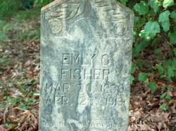 Emily C <I>Haston</I> Fisher