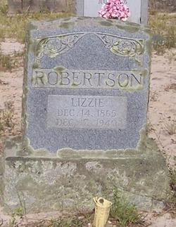 "Elizabeth ""Lizzie"" <I>Childs</I> Robertson"