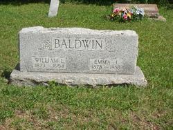 Emma Jane <I>Walters</I> Baldwin