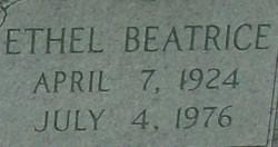 Ethel Beatrice <I>Bertram</I> Abbott
