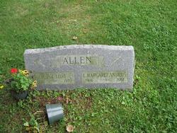 E Margaret <I>Andrus</I> Allen