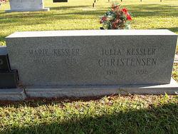 Julia <I>Kessler</I> Christensen