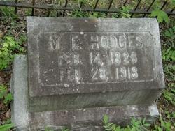 Martha Ellen <I>Erwin</I> Hodges