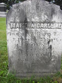 Martha Caroline Abbott