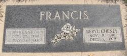 Walter Kenneth Francis