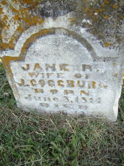 Jane Rebecca <I>Mercer</I> Coggburn