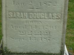 Miss Sarah Douglass