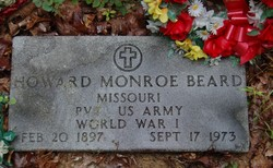 Pvt Howard Monroe Beard