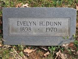 Evelyn <I>Harris</I> Dunn