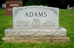 Susanna <I>Bundy</I> Adams