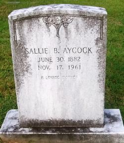 Sallie Bet <I>Murphy</I> Aycock