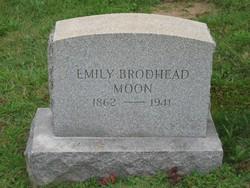 Emily Linderman <I>Brodhead</I> Moon