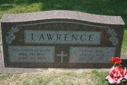 Lillie May <I>Burns</I> Lawrence