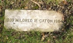 Mrs Mildred Bertha <I>Ritter</I> Caton