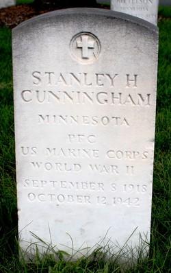 PFC Stanley H Cunningham