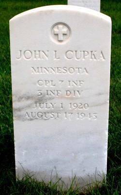 John L Cupka