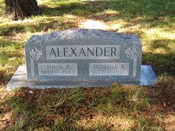 Doshia B <I>Knight</I> Alexander