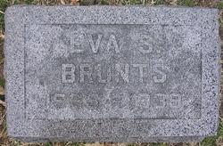 Eva Sarah <I>Alder</I> Brunts