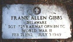 Frank Allen Gibbs