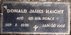 Donald James Haight