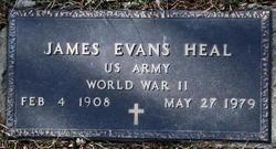 James Evans Heal