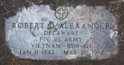 PFC Robert David Alexander