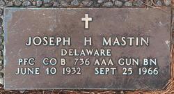 Joseph H Mastin