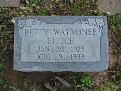 Betty Wayvonee Little
