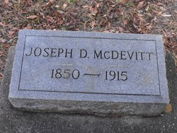 Joseph D McDevitt
