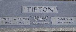 Louella <I>Spicer</I> Tipton