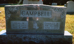 Oval Maud <I>Doom</I> Campbell