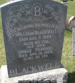 Grace Younge <I>Percival</I> Blackwell