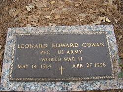 PFC Leonard Edward Cowan