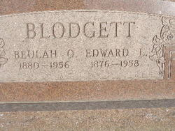 Beulah Ellen Lorene <I>Harris</I> Blodgett