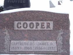 Gertrude <I>Davies</I> Cooper