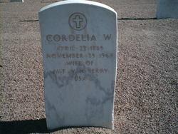 Cordelia W Berry