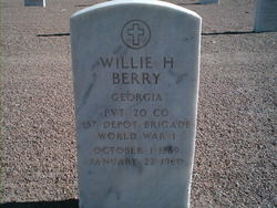 Willie H Berry