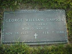 George William Simpson