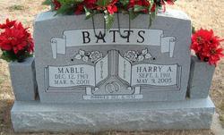 Mable <I>Tolbert</I> Batts