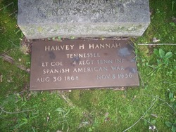 LTC Harvey Horatio Hannah