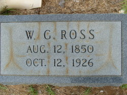 "William G ""W. G."" Ross"