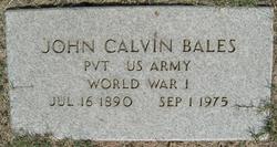 John Calvin Bales