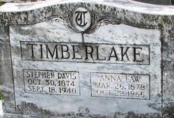 Stephen Davis Timberlake III