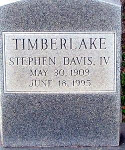 Stephen Davis Timberlake IV