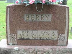 Mary J <I>Sanders</I> Berry